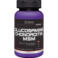 Glucosamine And Chondrotine And Msm 90 таб від Ultimate Nutrition