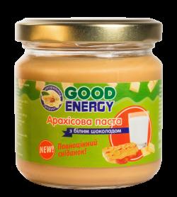 Арахісова паста з білим шоколадом 250 грам від Good Energy