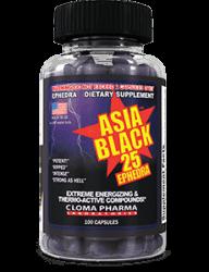 Asia Black 25 від Cloma Pharma 100 caps