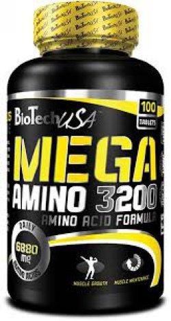 Mega Amino 3200 100 таб від BioTech