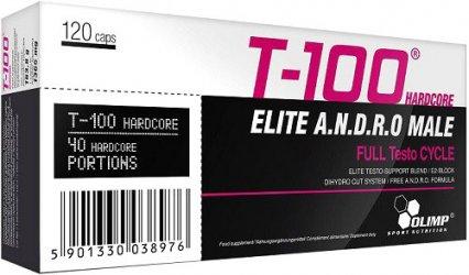 T-100 hardcore 120 caps от Olimp Labs