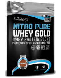 Nitro Pure Whey Gold от BioTech 908 грамм