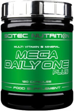 Mega Daily One Plus 120 caps от Scitec Nutrition