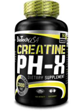 Creatine pH-X  90 caps от BioTech