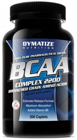 BCAA complex 2200 від Dymatize Nutrition 200 таб