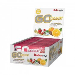 Энергетические батончики Go Energy Bar от BioTech 32 шт х 40 гр