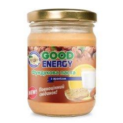 Фундука паста з арахісом 460 грам від Good Energy