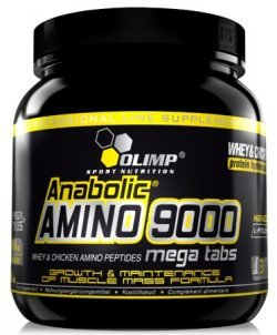 Anabolic Amino 9000 Mega 300 tabs от Olimp Labs