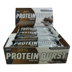Протеїнові батончики Protein Burst Bar від QNT 12шт х 70 гр