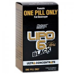Lipo-6 Black Hers Ultra Concentrate от Nutrex Research 60 капсул