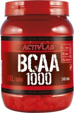 BCAA 1000 XXL от Activlab 240 таб