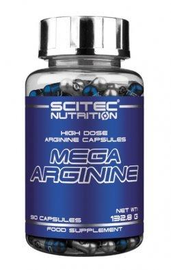 Mega Arginine 140 caps от Scitec Nutrition