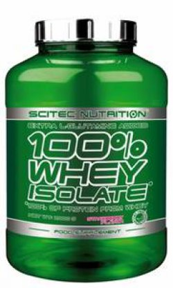 100% Whey Isolate 4 кг від Scitec Nutrition