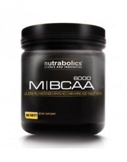 M-BCAA 6000 180 таб от NutraBolics