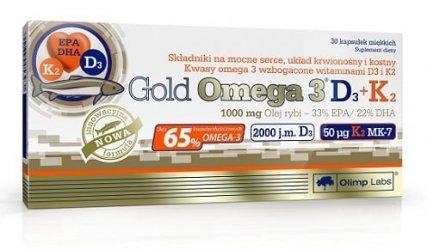 Gold Omega-3 D3+K2 (30 caps) от Olimp Labs