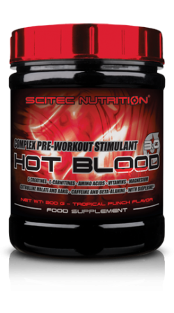 Hot Blood 3.0 від Scitec nutrition 300 грам