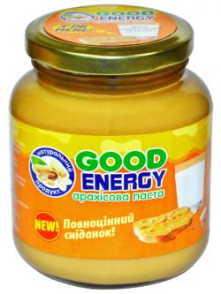 Классическая арахисовая паста 180 грамм от Good Energy