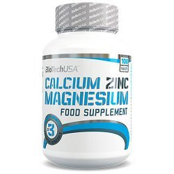 Calcium Zinc Magnesium от BioTech USA 100 таблеток