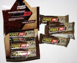 Батончик 36% от Power Pro  20 шт х 40 грамм