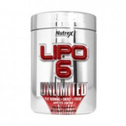Lipo-6 Unlimited Powder flavored от Nutrex Research 150 грамм