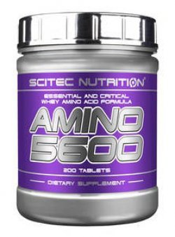 Amino 5600 200 таб от Scitec Nutrition