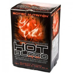 Hot Blood 3.0 BOX guarana 25 пакетиків від Scitec nutrition