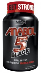 Anabol 5 Black от Nutrex Research 120 капсул