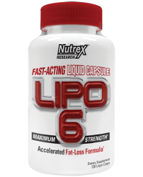 Lipo-6 Liqui-caps Maximum Strength от Nutrex Resereach 60 caps