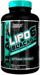 Lipo-6 Black Hers от Nutrex Research 120 капсул