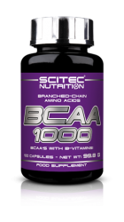 BCAA 1000 (100 капсул) от Scitec Nutrition