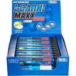 L-Carni Maxx 2000 на ампулах від ATOMIX 20 шт. 25 мл
