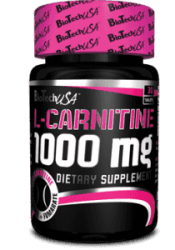 L-carnitine 1000 mg 60 таб від BioTech