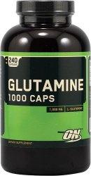 Glutamine Caps 1000 від Optimum Nutrition 240 капсул