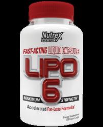 Lipo-6 Liqui-caps Maximum Strength від Nutrex Research 120 caps