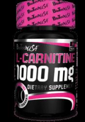 L-carnitine 1000 mg 30 таб від BioTech