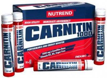 Carnitin 1000 Enduro от Nutrend 10 шт х 25 мл