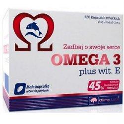 Omega 3 45% + vit E 120 caps от Olimp Labs