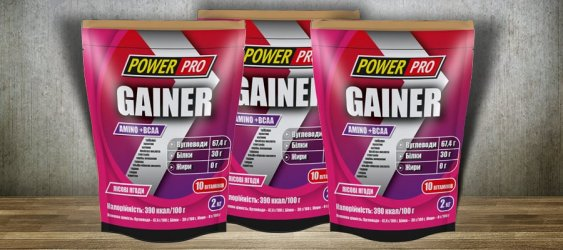 Gainer 2 кг от Power Pro
