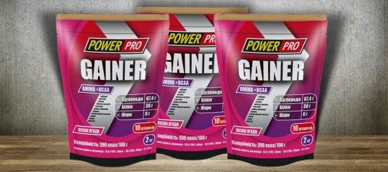 Gainer 2 кг від Power Pro