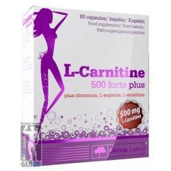 L-carnitine 500 Forte Plus 60 caps от Olimp Labs