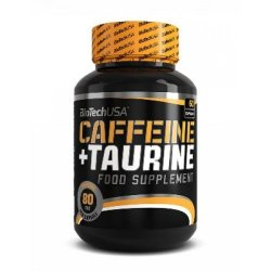 Coffeine + Taurine 60 caps от Biotech