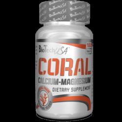Coral Calcium Magnesium 100 tabs от BioTech