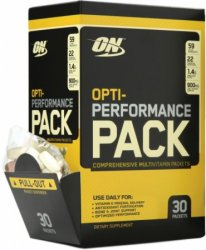 Performance Pack от Optimum Nutrition 30 pack
