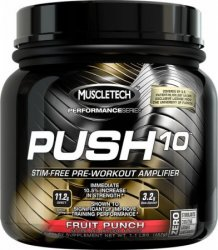 Push 10 Pre-Workout Performance Series от MuscleTech 500 грамм