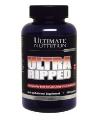 Ultra Ripped Ephedra Free 180 caps от Ultimate Nutrition