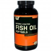 Enteric Coated Fish Oil 100 Softgels от Optimum Nutrition