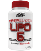 Lipo-6 Liqui-caps Maximum Strength от Nutrex Resereach 120 caps