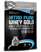 Nitro Pure Whey Gold от BioTech 454 грамма